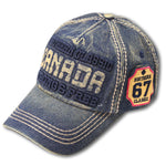 Denim Northern Classic Canada Strong & Free Cap