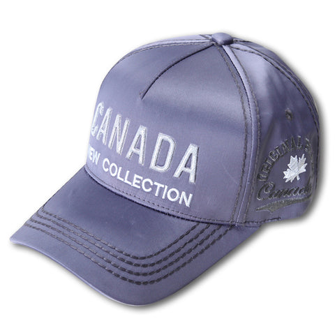 Charcoal/Silver Canada New Collection Cap