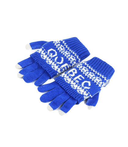 Royal Blue Quebec 2 In 1 Gloves