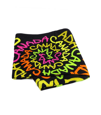 Neon Canada Spiral Towel