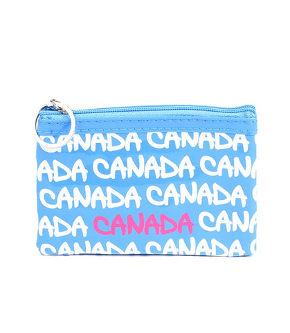 Turquoise Canada Rectangle Coin Purse