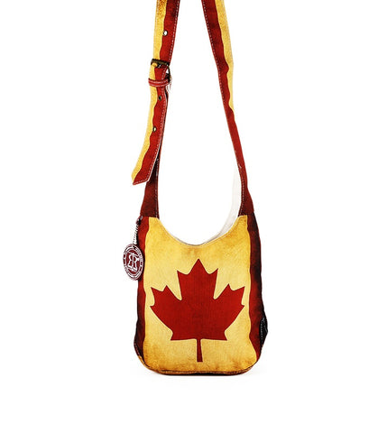 Red & White Canada Vintage Junior Shoulder Bag