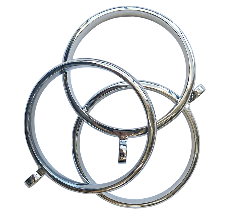 RGTK60CR - Metal rings for 60mm diameter pole