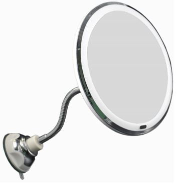 Flexible Gooseneck LED Makeup Mirror GM-L0069