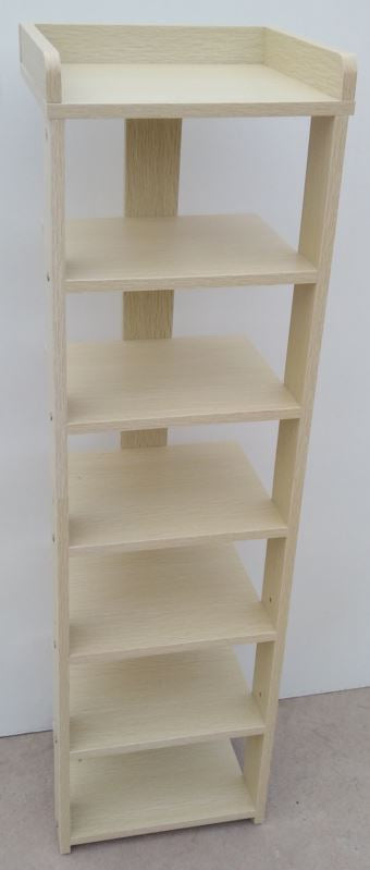7 Tier Shoe Rack  270 X 240 x 945mm | Light Maple