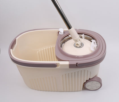 Cozy Clean Spin Mop Set With Wheels | 20200622-1