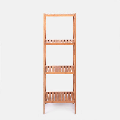4 Tier Multi-Purpose Bamboo Shelf 32 x 32 x 99.5CM