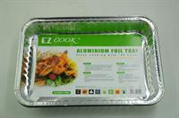 EZ Cook Rectangular Aluminium Kitchen Tray | 31 x 21 x 5cm