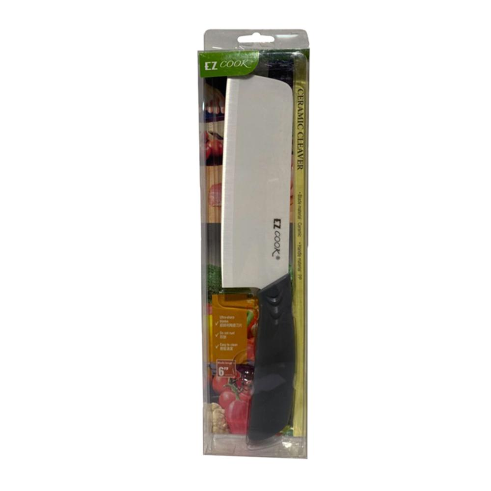 EZ Cook 6 Ceramic Cleaving Knife