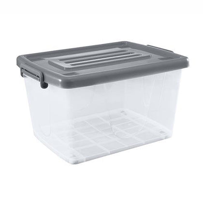 Japanhome 110L Storage Box Grey