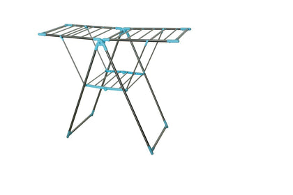EZ Home Stainless Steel Drying Stand | 126 x 50.5 x 122cm