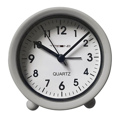 Timeline Table Alarm Clock Grey 9.4x4x9.5cm