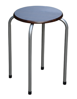 EZ Home Round Stacking Chair | 30 x 30 x 45cm MTS211019B
