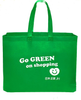 Japan Home Green Recycle Bag 49.5*40cm