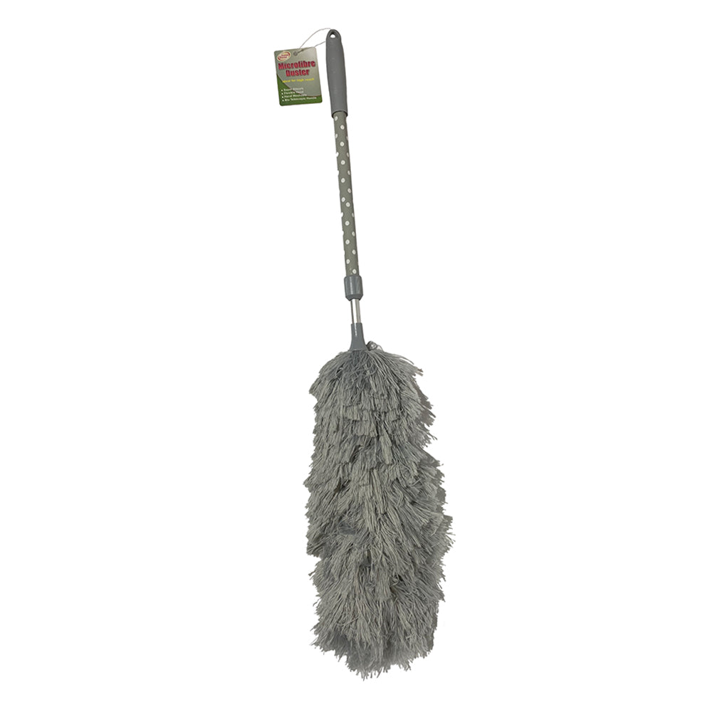Microfiber Cleaning Duster (Grey)