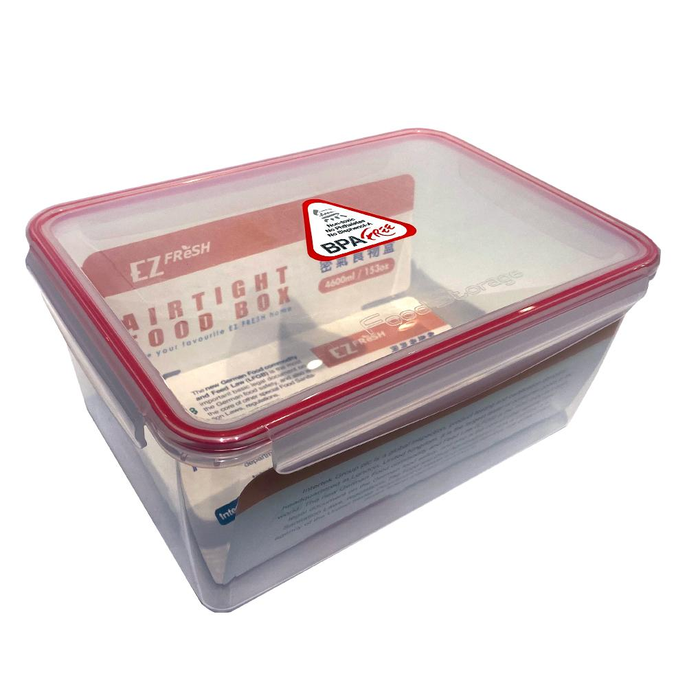 EZ Fresh Airtight Food Storage Rectangular | 4600ml
