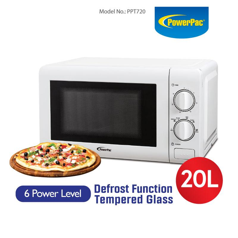 MICROWAVE OVEN 20L WITH 6 POWER LEVEL AND DEFROST FUNCTION