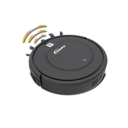 SMART ROBOTIC VACUUM CLEANER WITH AUTOMATIC RETURN AND WET & DRY OPTIONS