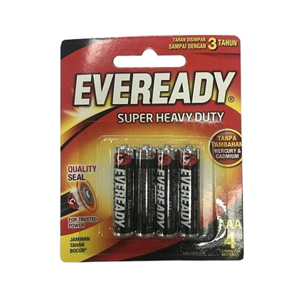 Eveready battery Black AAAx4