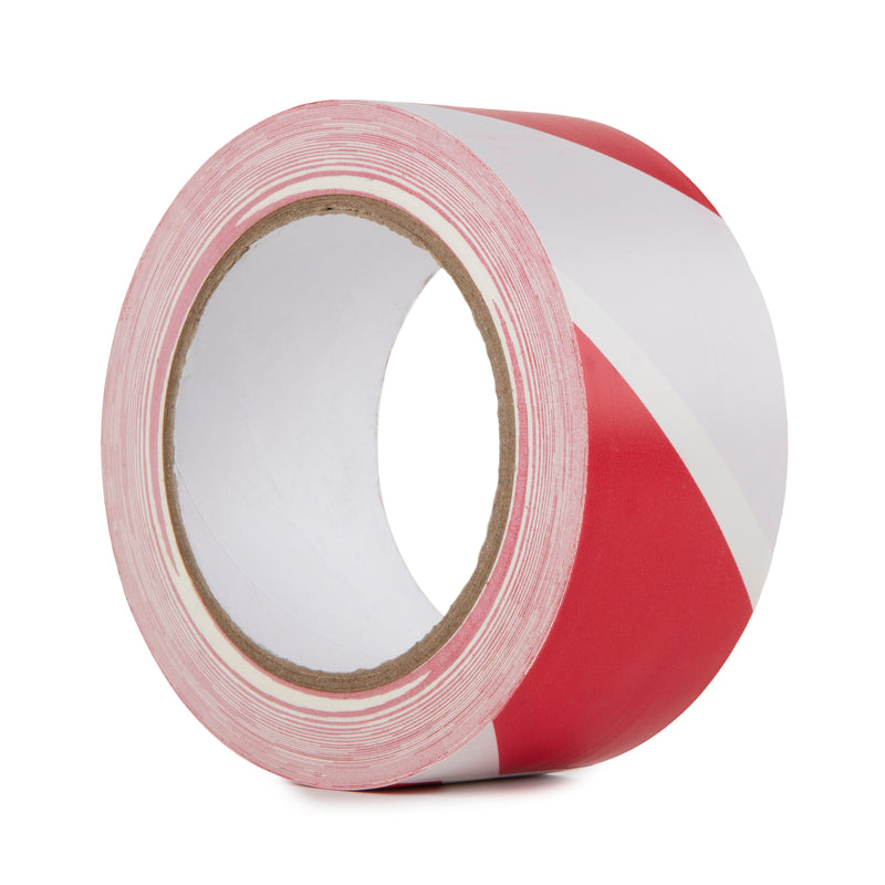 HAZARD WARNING PVC TAPE RED
