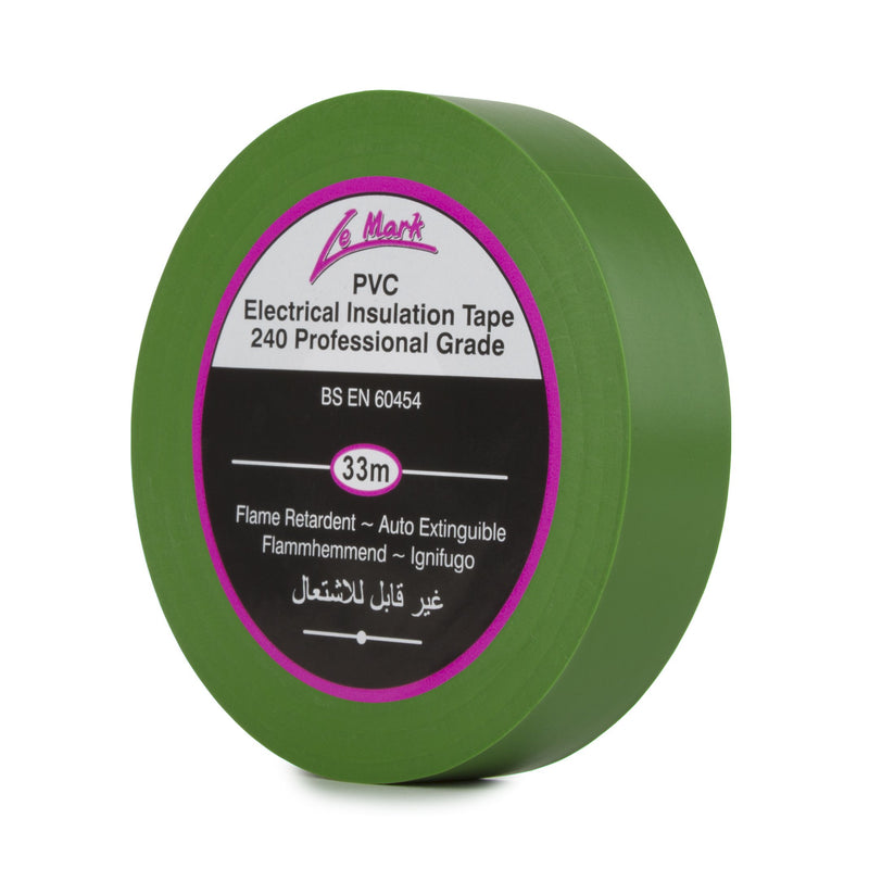 NASTRO-ISOLANTE-IN-PVC-green