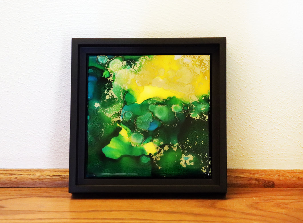 Framed Art Tile - Virescence