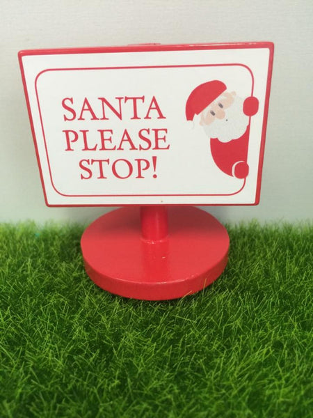 The Fairy Door Store - Christmas Sign