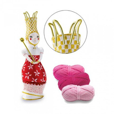 Djeco French Knitting Doll