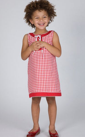 The Dragon and the Rabbit Gingham Dress