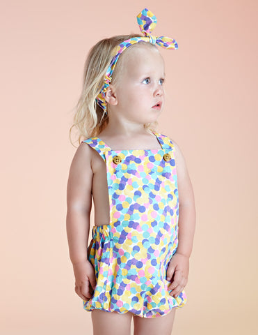 Acorn Summer Confetti Playsuit