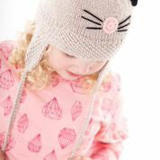 Acorn Kitty Cat Beanie