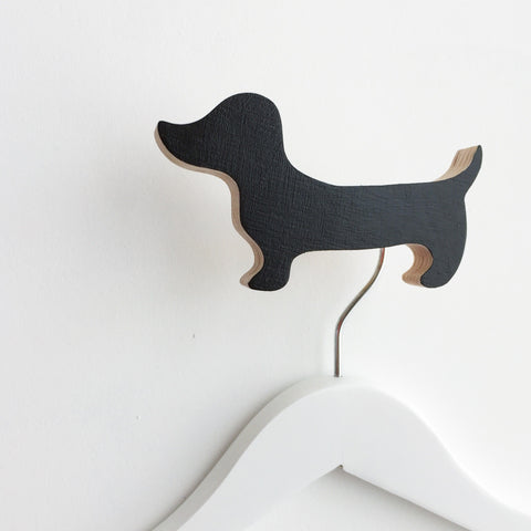 Knobbly Wall Hook Daschund