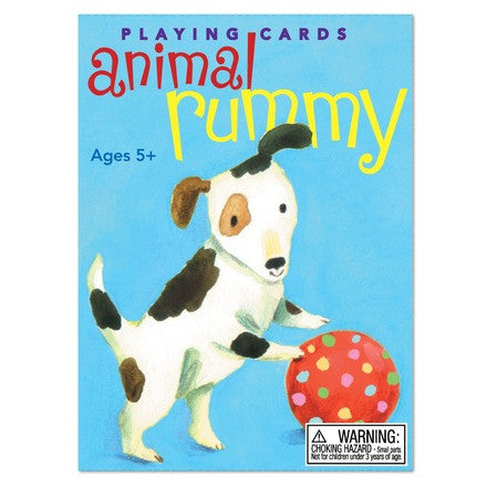 eeBoo Animal Rummy