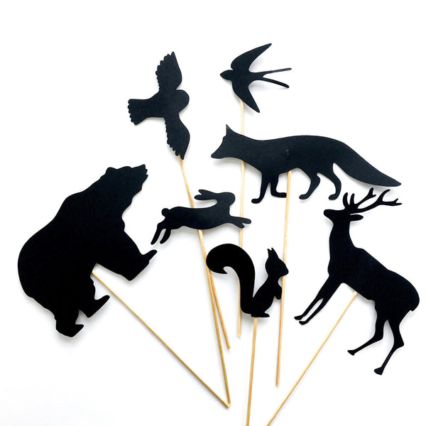 Mini Made Shadow Puppets - In the Woods