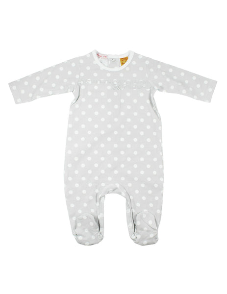 Papoose AW16 Ruffle Spot Romper Grey
