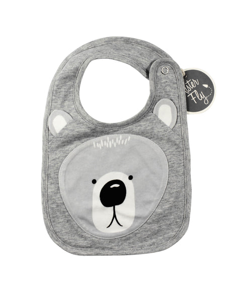 Mister Fly Face Bib Bear