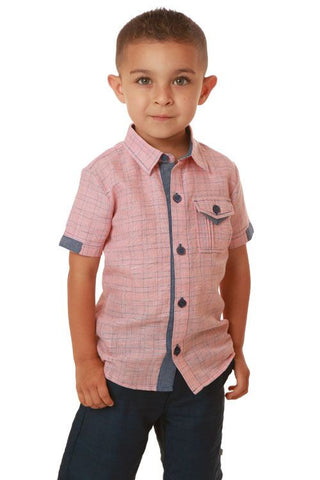 Axel & Hudson Red Stripe Shirt