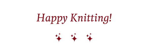 Banner Happy Knitting
