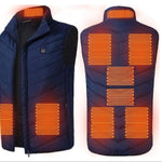 USB Powered Men's Heated Vest