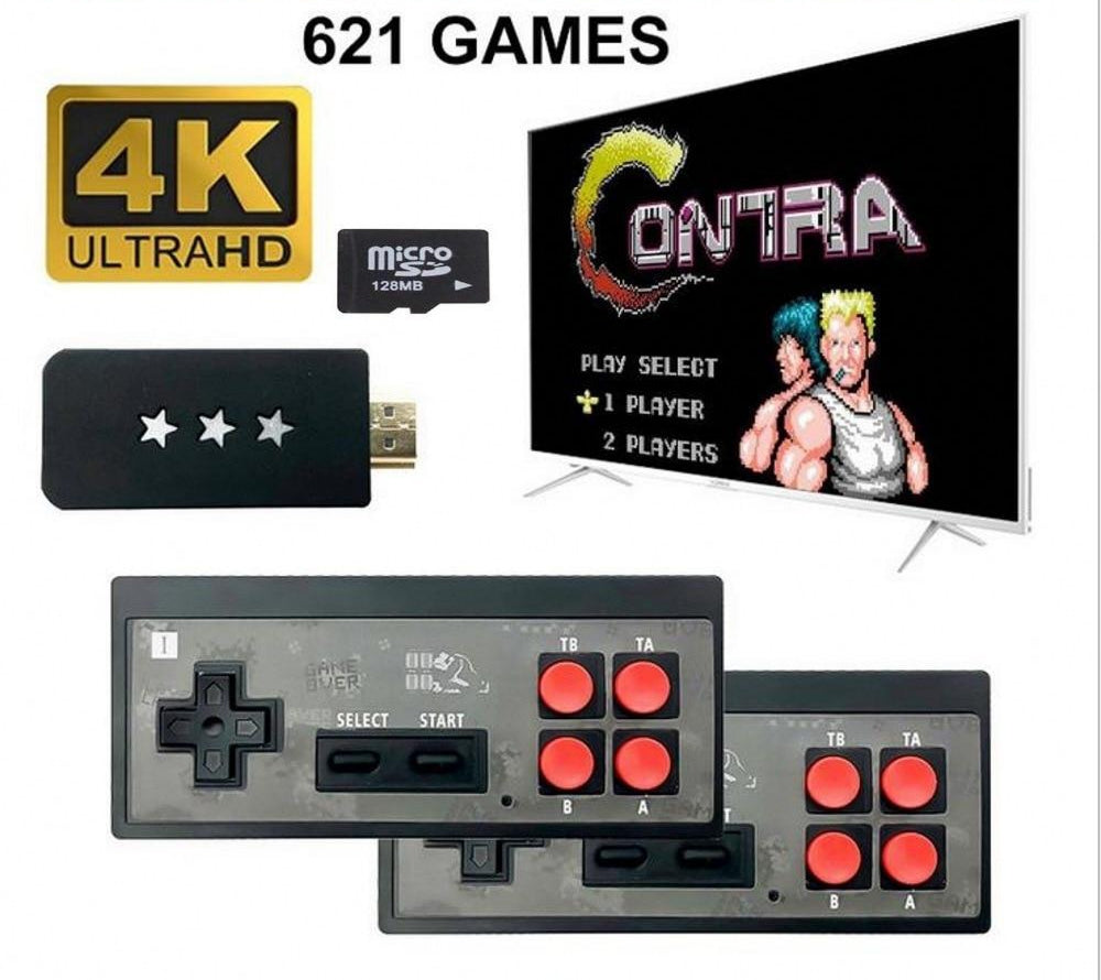 Wireless Classic Video Game Console -  621 Classic Games