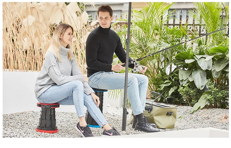 Amazing Retractable Portable Stool