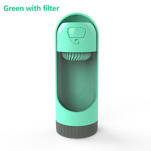 Portable Dog/Pet Water Bottle Dispenser