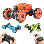 Hand-Gesture Controlled 4WD RC Stunt Car