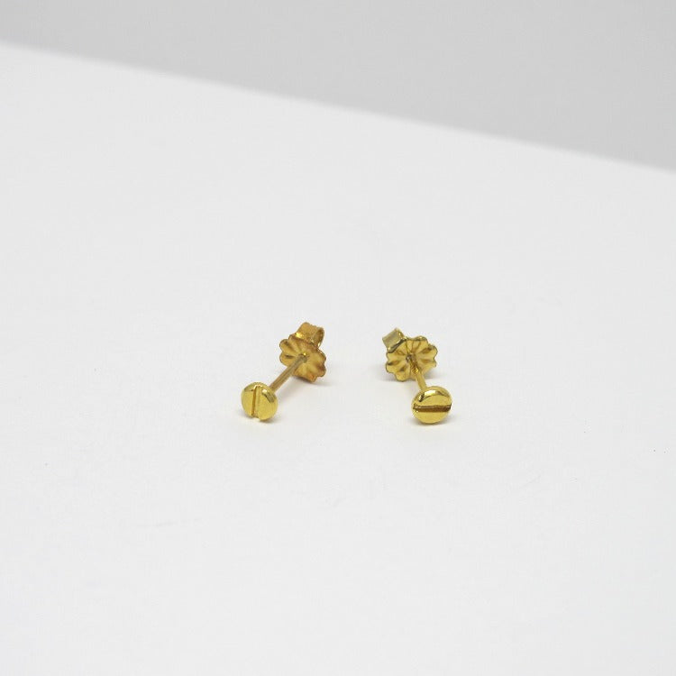 Tiny Studs - Solid Gold