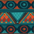 Green Tribal Pattern