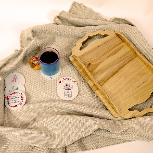 "Bundle Set ""Coasters & Tray"""
