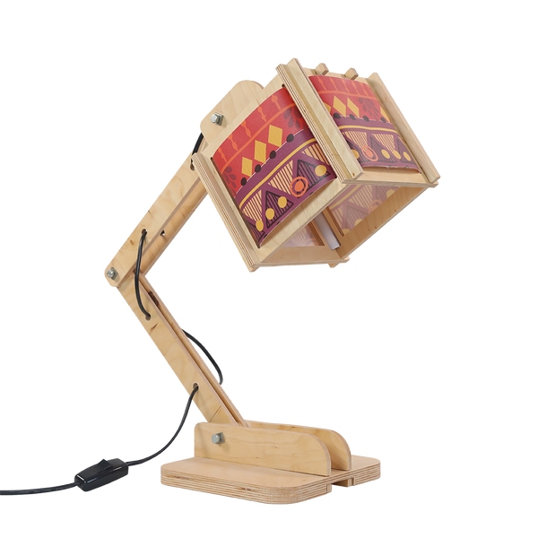 Canvas - Warm Tribal Pattern (For Robot Desk Lamp)