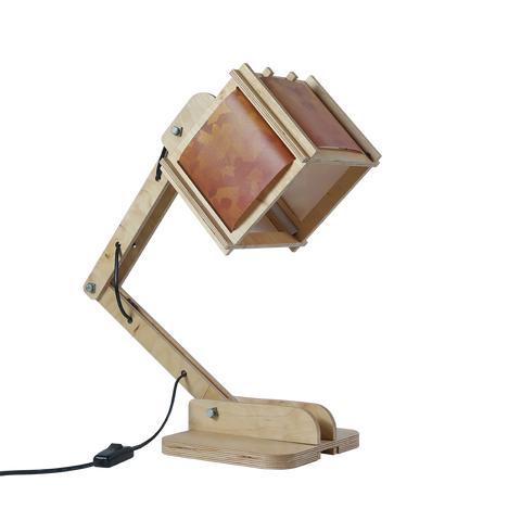 Robot Desk Lamp - Golden Pattern