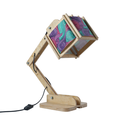 Robot Desk Lamp - Van Gogh