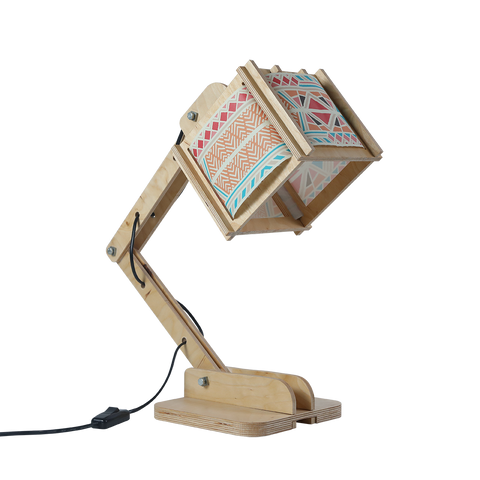 Robot Desk Lamp - Bohemian Pattern